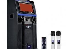 双诺 声美HJ-309 12英寸低音9英寸显示屏 电瓶拉杆音箱