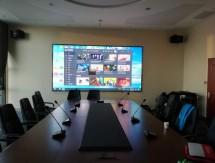 湖北工建公司会议室显示屏音响音视频系统案例