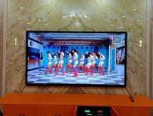 江夏安山KTV电子显示屏安装效果