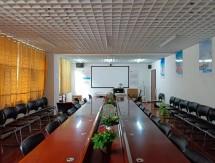 物流公司大楼会议培训投影机安装