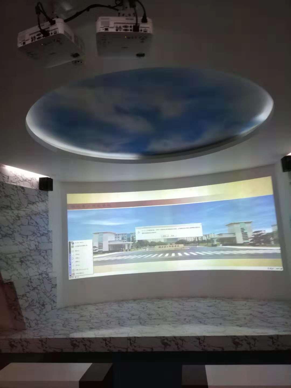 校历史展览馆投影融合