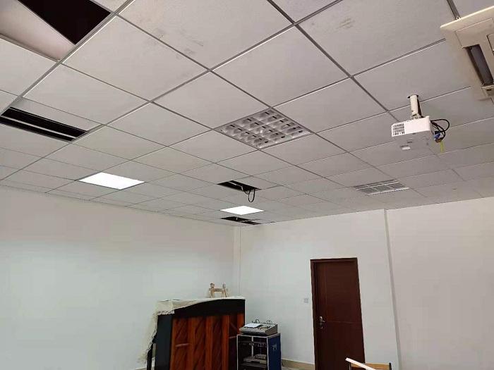武汉百步亭物业公司投影音箱系统改造